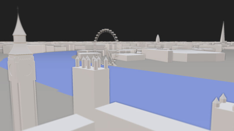 ViziCities: London Landmarks