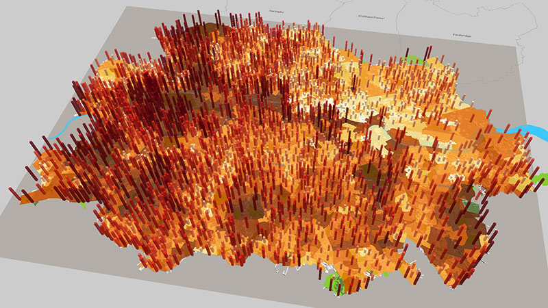ViziCities: Expanding London