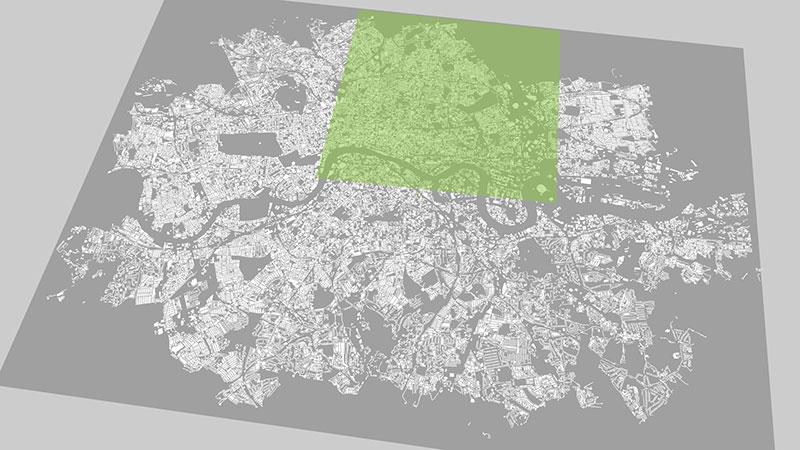 ViziCities: Expanding London
